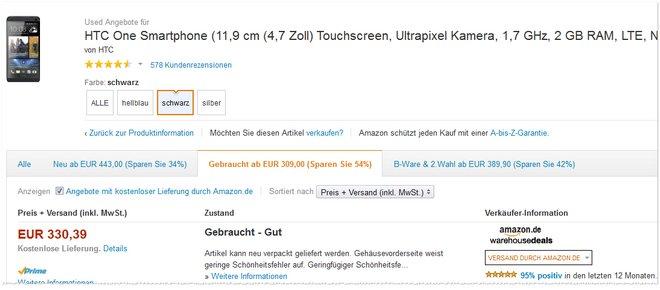 HTC-One 16GB B-Ware