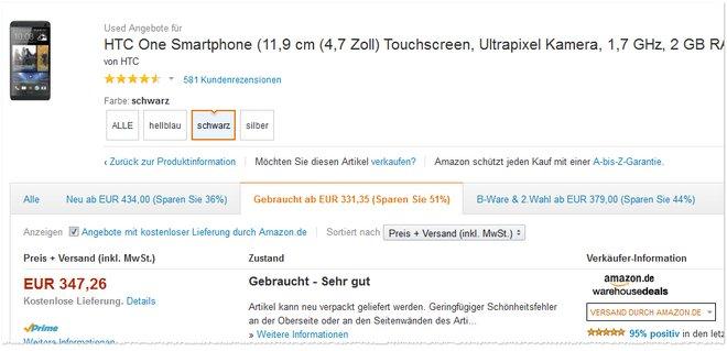 HTC One gebraucht