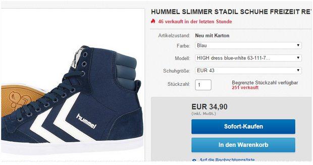 Hummel Stadil Slimmer