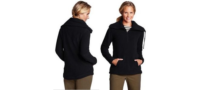 Lands End Damen Troyer