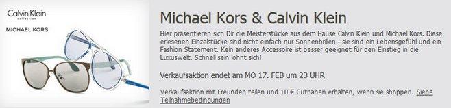 Michael Kors Sonnenbrillen-Sale bei BuyVIP