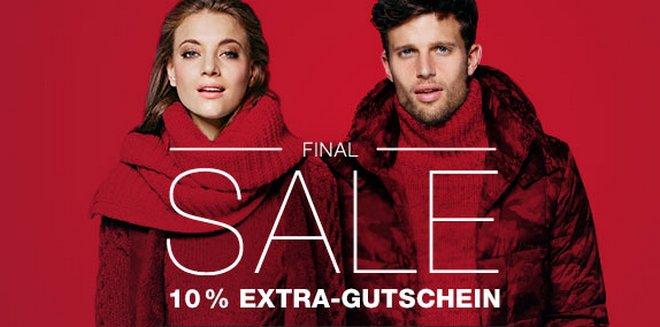 Outletcity Final Sale mit 10% Gutschein