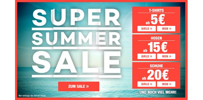 Planet Sports Super Summer Sale