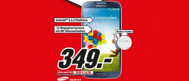 Samsung Galaxy S4 Media-Markt