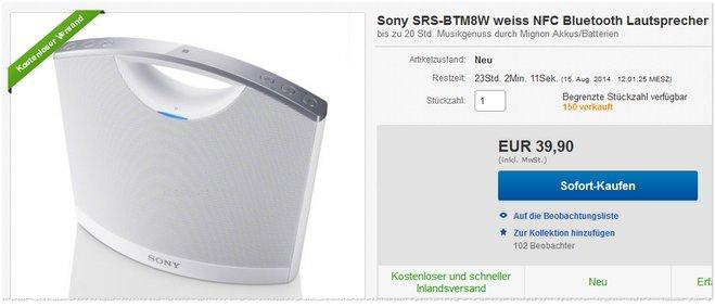 Sony SRS-BTM8W günstig