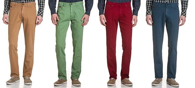 Wrangler Stretch Jeans in bunt