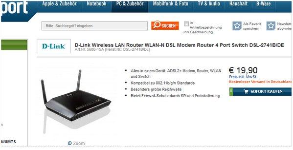 D-Link DSL-2741