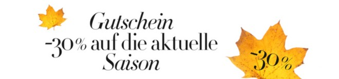 Amazon Fashion Gutschein Herbst