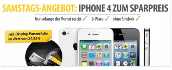 Apple iPhone 4 ohne Vertrag