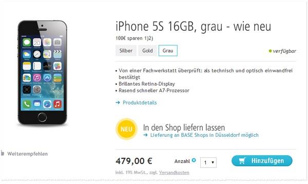 Apple iPhone 5S Preisvergleich
