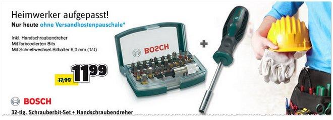BOSCH Schrauber-Bit-Set