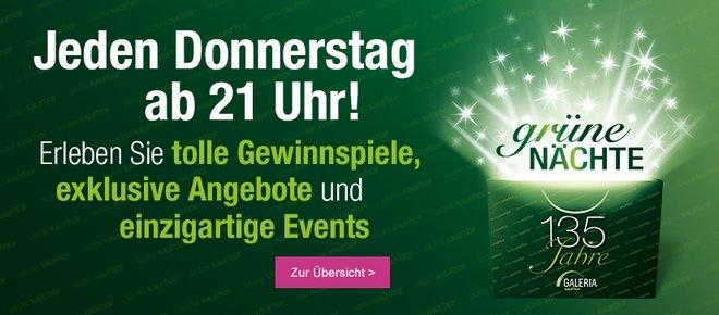 GALERIA Kaufhof Grüne Nächte