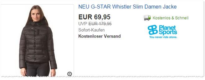 G-Star Whistler