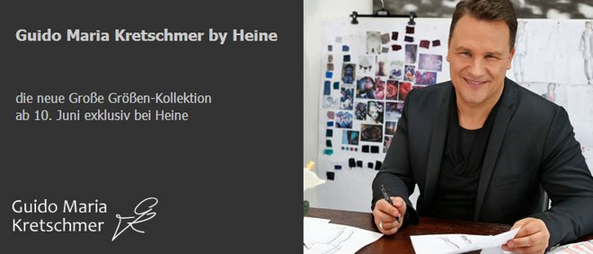 Guido Maria Kretschmer Mode Kollektion bei Heine im Onlineshop