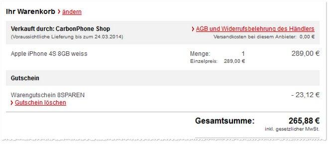 iPhone 4S Demoware