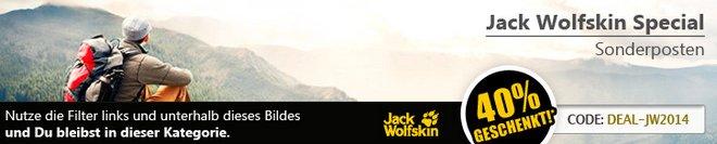 Jack Wolfskin Sonderposten