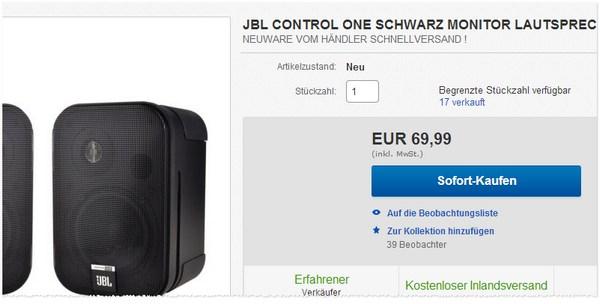 JBL Control One Angebot