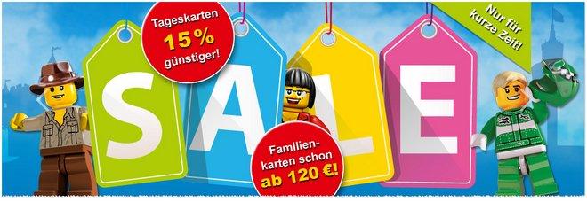 Legoland Deutschland Karten günstiger