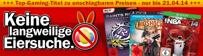Media Markt Games Oster-Aktion