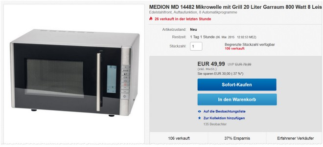 Medion MD 14482 Tests