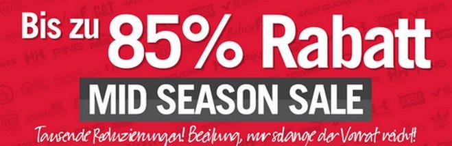 Midseason Sale Rabatt