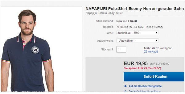 Napapijri Polo-Shirts kaufen