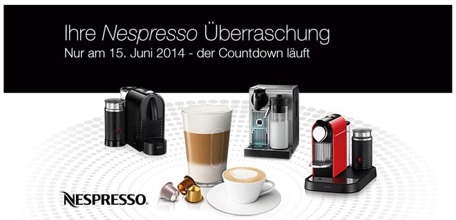 Nespresso Super Sunday Aktion