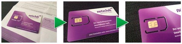 netzclub Kostenlose SIM-Karte