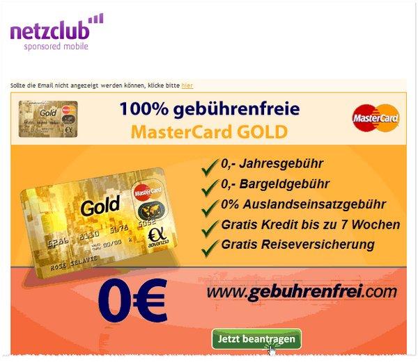 netzclub-Test Werbe-Mails