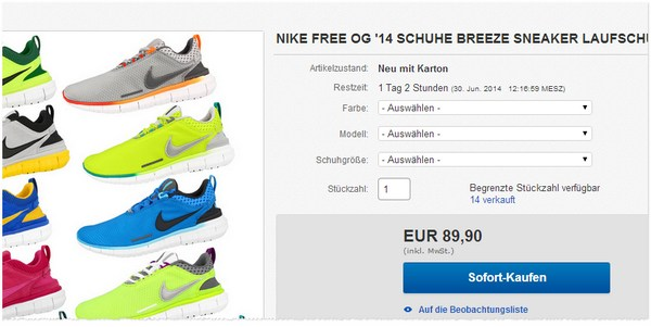 Nike Free OG 14 Breeze