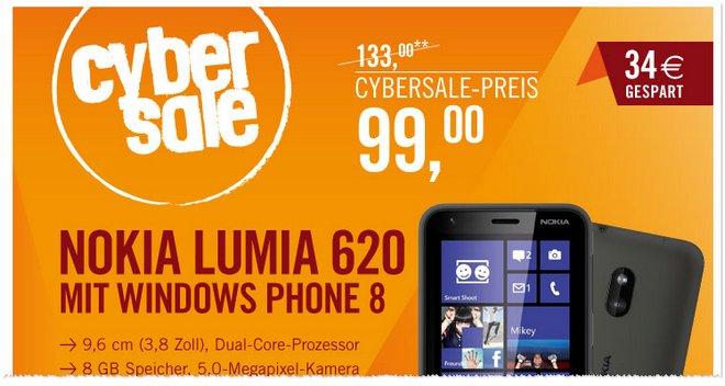 Nokia Lumia 620 Preis billig