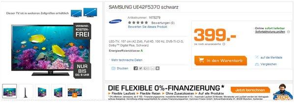 Samsung UE42F5370