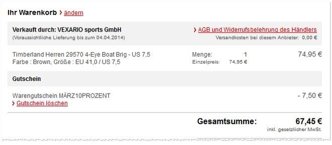 Timberland Boat Brig Angebot