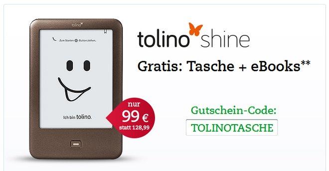 Tolino Shine Gratis Tasche