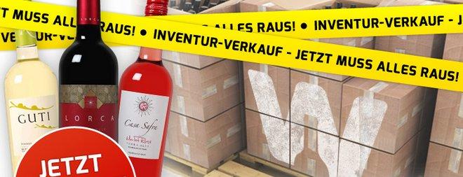 Weinvorteil Inventur