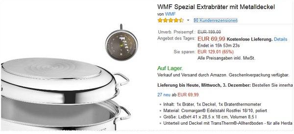 WMF Spezial-Extrabräter-Preis