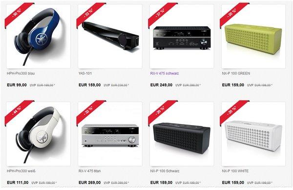 Yamaha Spezialverkauf bei eBay
