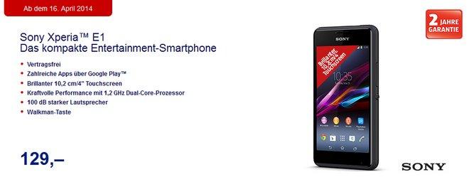 ALDI Prospekt Sony Smartphone