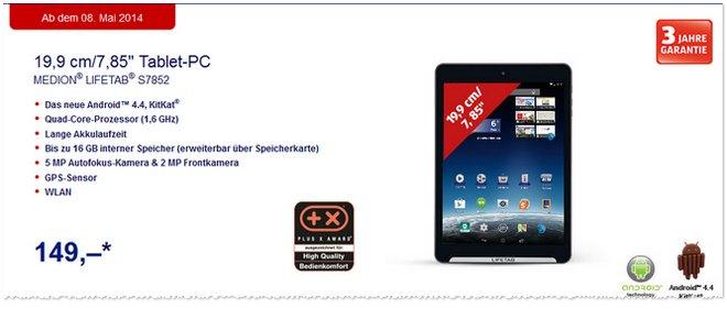 ALDI Tablet Medion