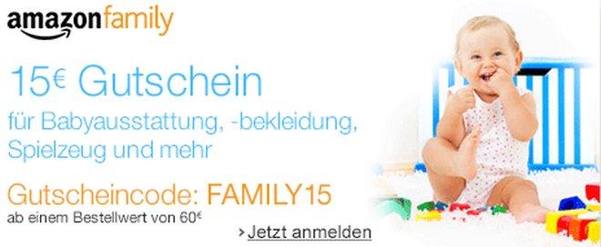 Amazon Family Gutschein