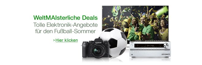 Amazon weltMAIsterliche Deals-Aktion