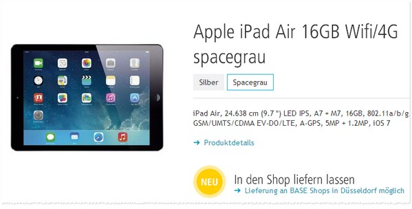 Apple iPad Air bei Smartkauf