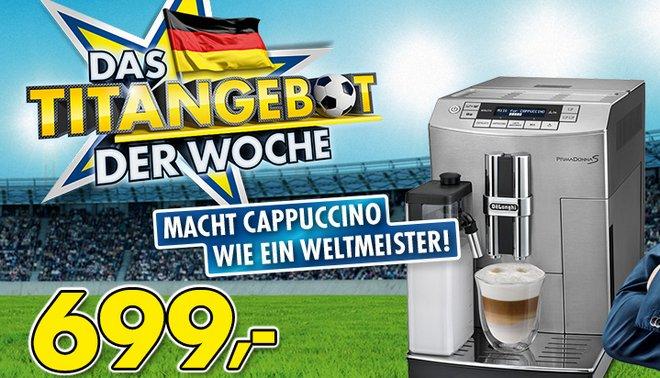 Euronics Titangebot Kaffeevollautomat 7.5.2014