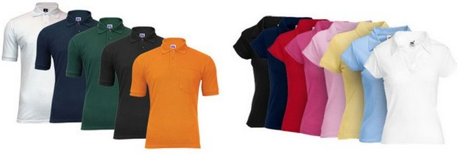 Fruit of the Loom Polo-Shirts Angebot