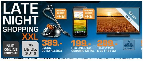 HTC One S C2 ohne Vertrag in der Saturn Werbung