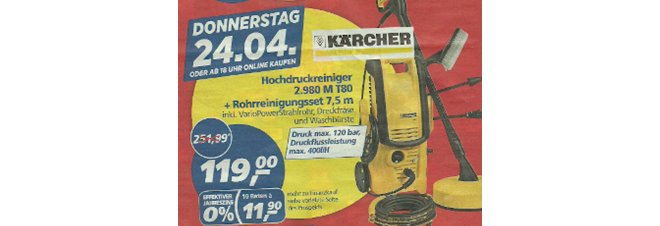 Kärcher 2.980 M + T80
