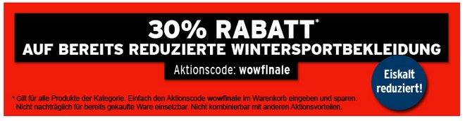 Karstadt Sports Sale Winterkleidung
