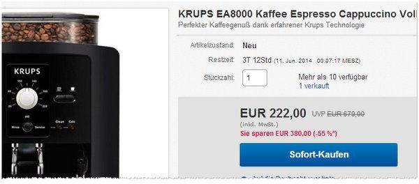 Krups EA 8000 kaufen