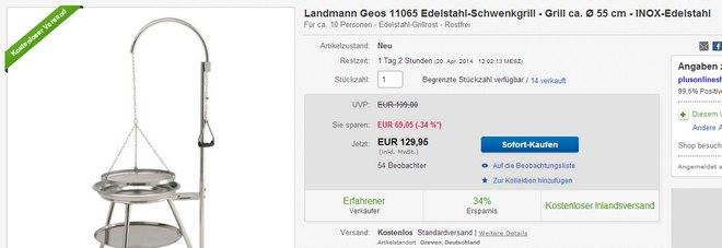 Landmann Geos 11065