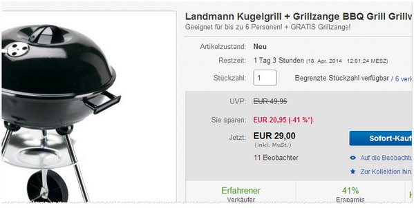 Landmann Kugelgrill